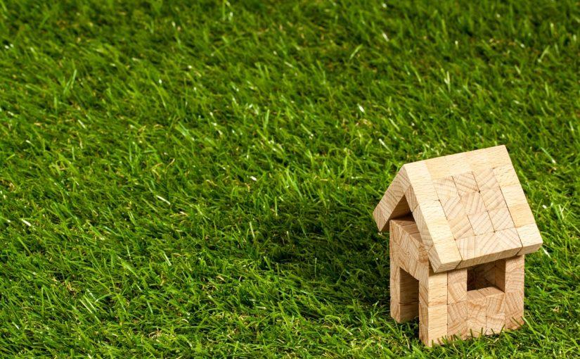 dom z ogrodem na dachu
